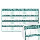 (en inglés) Calendario 2021 2022 de Boxclever Press (Formato en Bloques). Planificador Mensual abarca Agosto'21-Julio'22. Calendario pared 2021 2022 Casa, Trabajo, Estudio. Laminado, 70 x 43 cm.