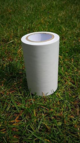 Siloklebeband Klebeband Reparaturklebeband Folienklebeband 0,10 x 10 m weiß Dichtungsband Dichtband Ideal zum Abdichten und Flicken von Löchern und Rissen