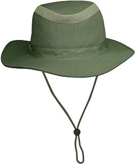04ee41b9 Unisex Safari Sun Bucket Hat with Hidden Cash/Card Pocket - Lightweight -  100%