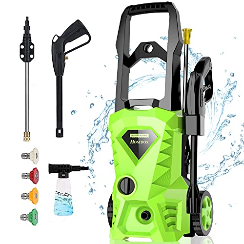 2500 PSI,1.5GPM Electric Presure Washer with 4 Nozzles Only $89.99 (Retail $299.99)