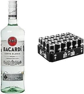 Bacardi Carta Blanca Rum 1 x 1 l mit afri cola, EINWEG 24 x 330 ml