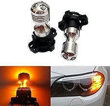GFJMC Amber Yellow Error Free Cree PY24W LED Bulbs for BMW E92/E93 3 F10/F07 5 Series E70 X5 E71 X6 Z4