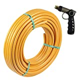 Sharpex Professional Thumb Control Garden Hose Nozzle with 10 MT Pipe-Water Hose Spray