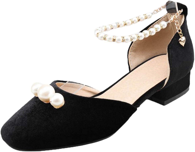 FizaiZifai Women D'Orsay Flats Sandals