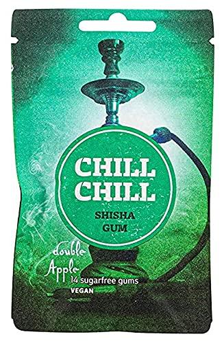 Chill Chill | Shisha Gum | Double Apple | Zuckerfreier Kaugummi 32g