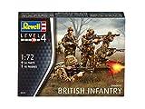 Revell 02519-Figuras de infantería británica para maqueta 48 Figuras (Escala 1:72) (02519)