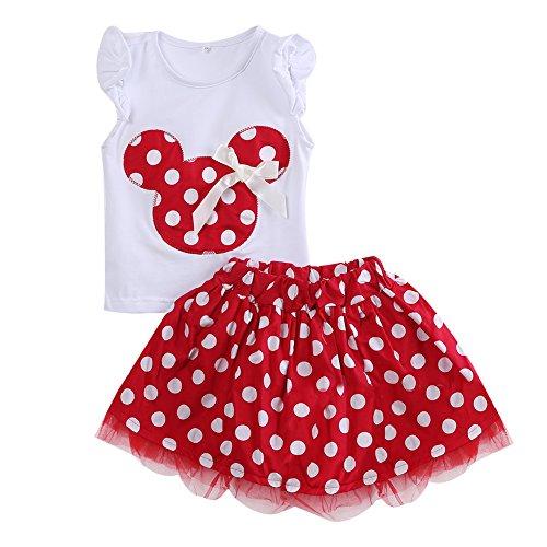 Ropa Bebe NiñA Verano Vestidos Estilo Princesa Ropa Fiesta De Dibujos Animados Lindo Mini Vestido 2 Piezas 2019 MáS Nuevos