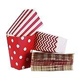 FLOWOW Scatole di Popcorn 36PCS scatola degli spuntini...