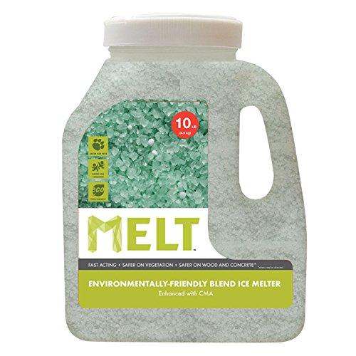 Snow Joe MELT10EB-J MELT 10 Lb Jug Premium Environmentally-Friendly Blend Ice Melter w  CMA