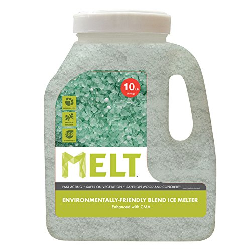 Our #5 Pick is the Snow Joe MELT10EB-J 10 Lb Jug Premium Environmentally-Friendly Blend Ice Melter