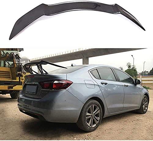 ZDZHT Alerón Trasero Spoiler de Fibra de Carbono para Chevrolet Cruze 2009-2019, Accesorios de Modificación del Alerón del Maletero, Duradero, Brillante