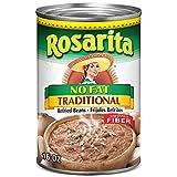 Rosarita No Fat Traditional Refried Beans, 16 oz