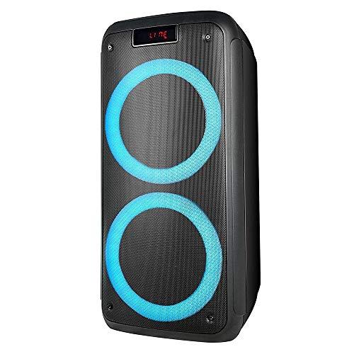 Caixa de Som Pulse Pulsebox Efeito de LED Bluetooth AUX/USB 1000W - SP359