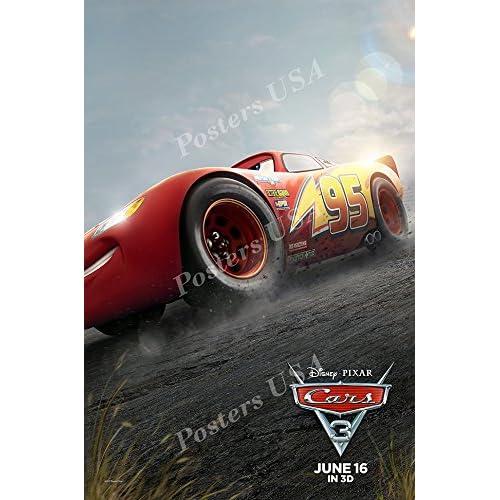 Cars 3 Poster Amazon Com