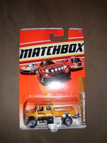 Matchbox 2010 Construction #47 Yellow International CXT