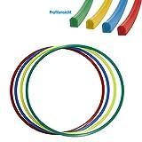 Grevinga Gymnastikreifen Hula-Hoop Reifen 70 cm Durchmesser Farbe: rot -