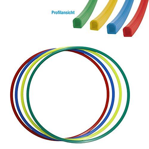Gymnastikreifen Hula-Hoop Reifen 70 cm Durchmesser Farbe: grün - 112034-04