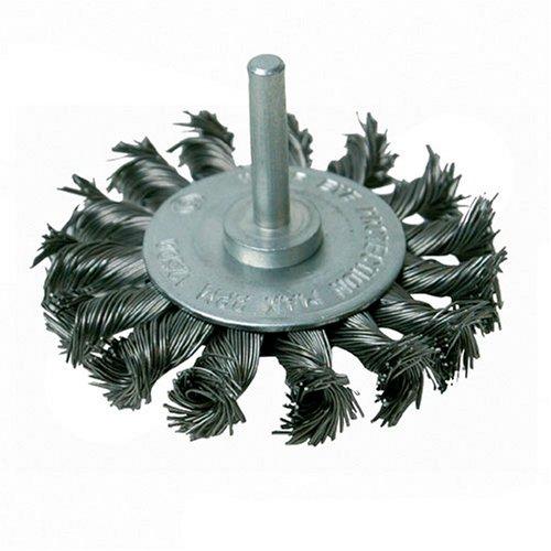 Silverline 456933 - Cepillo circular de acero trenzado (75