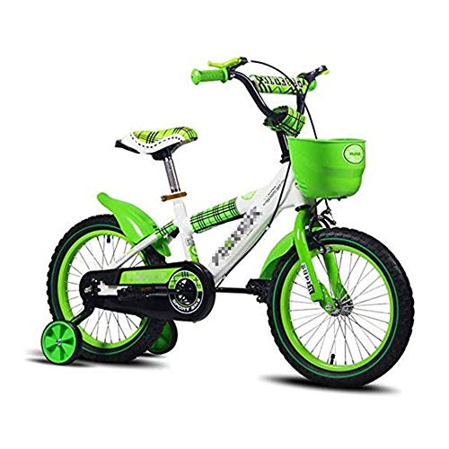 Sale!! AZZ Children's Bicycle, Boy Stroller 12/14/16 Inch Girl Bicycle, 2-6 Years Old Children's Exercise Bike Outdoor Bicycle (Size : 16inches)