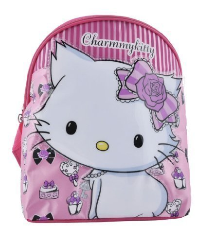 Hello Kitty Sanrio Charmmykitty Tiny Backpack with Raised Motif