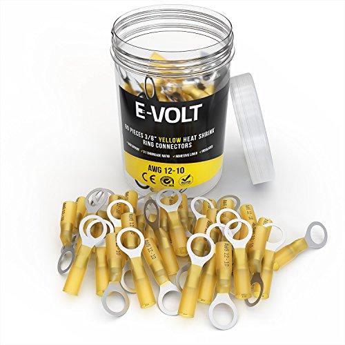 E-VOLT Heat Shrink Crimp Connectors