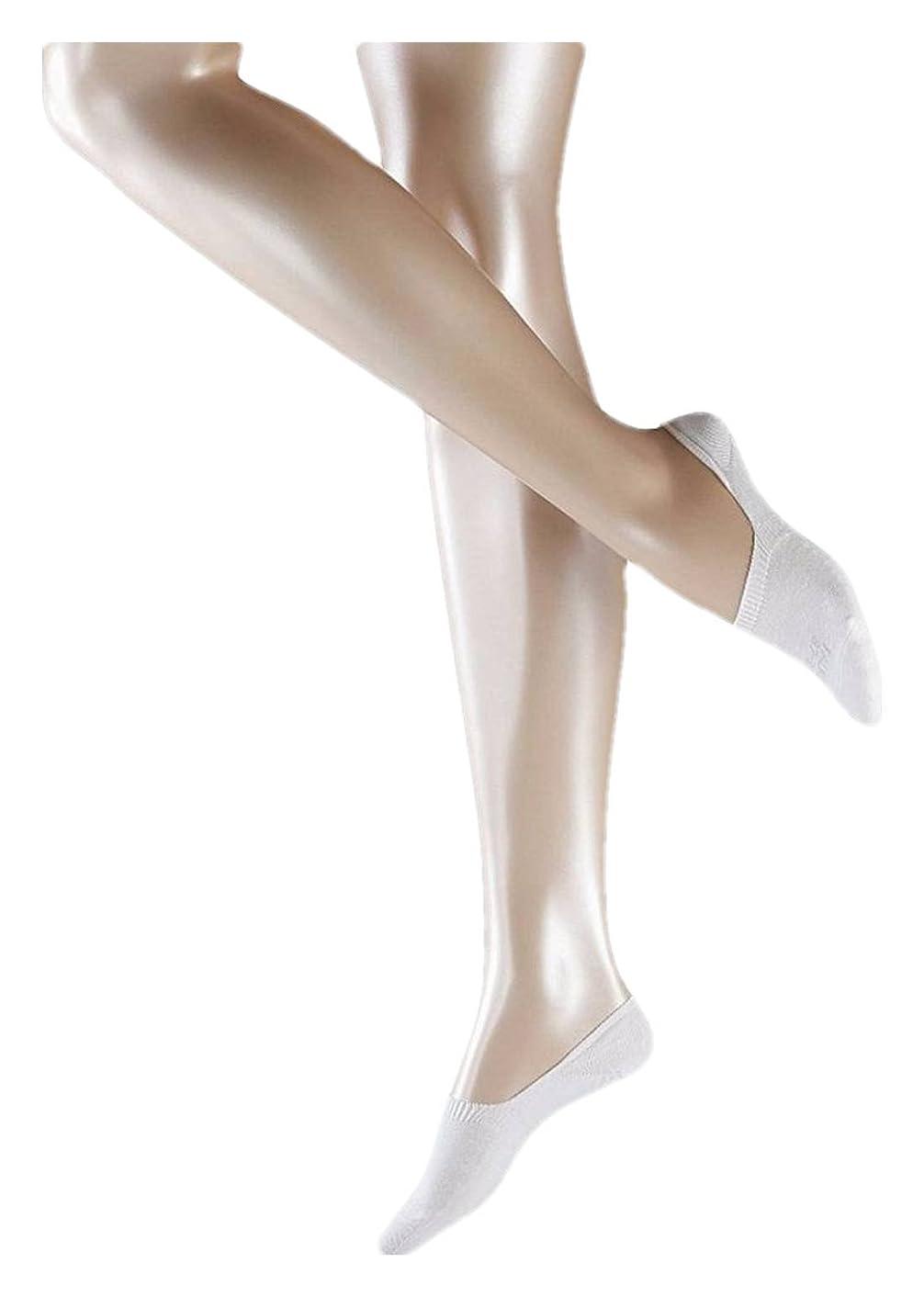 Falke Womens Step Invisible Sneaker Socks - White