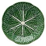 Bordallo Pinheiro Cabbage Green - Plato de postre (4 unidades), color verde