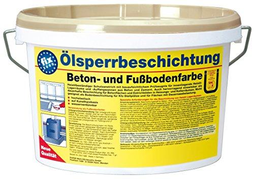 Pufas fix 2000 Ölsperrbeschichtung Beton- und Fussbodenfarbe 2,500 L