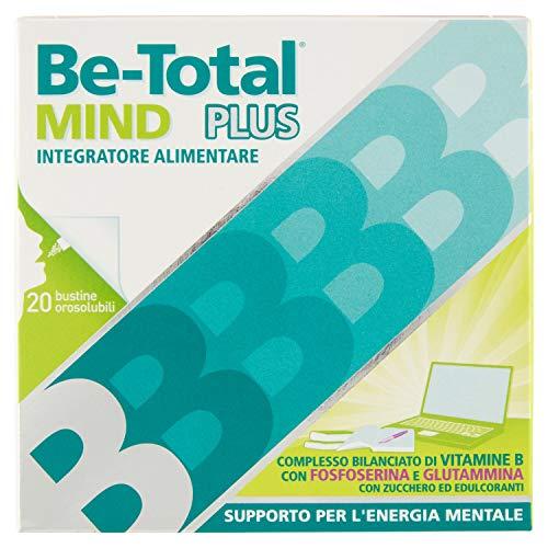 Betotal Mind Integratore Alimentare di Vitamine B, Confezione da 20 Pezzi