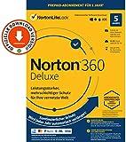 Norton 360 Deluxe 2021 | 5-Geräte | 1-Jahres-Abonnement mit Automatischer Verlängerung | Secure...