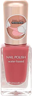 MINISO Water-based Nail Polishes Colour Party Girl Nail Paints, Nude Pink, 12ml