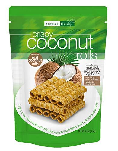 Tropical Fields Tropical Fields Crispy Coconut Rolls 9.3 OZ, 9.3 oz