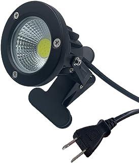 防水 led クリップライト 7W (60W相当) 昼白色 6000K コード長3m ledクリップライト ledライト 店舗 屋外 照明 看板 間接照明 電気スタンド デスクスタンド