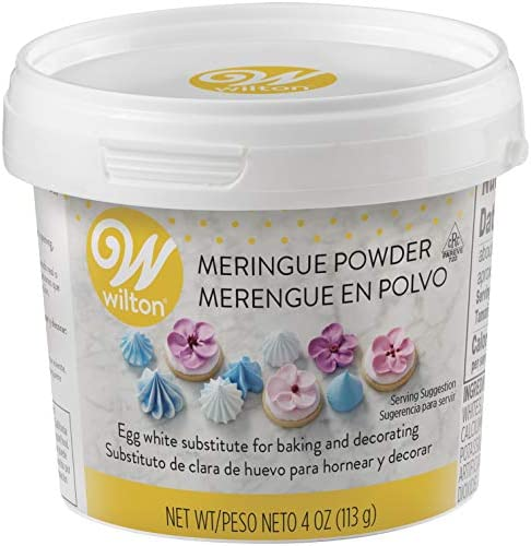 Wilton Meringue Powder Egg White Substitute, 8 oz.