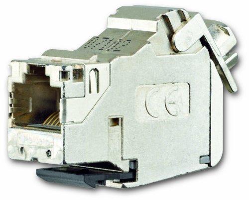 Busch-Jaeger 0219-101 Universalmodul, RJ45, Cat. 6A iso, geschirmt