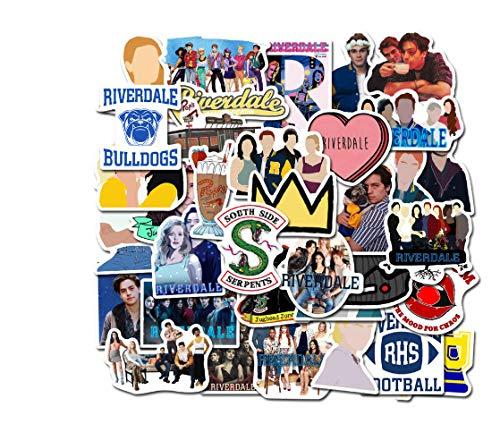 votgl 50 Stück Riverdale TV-Show Fans Geschenk Dekoration Aufkleber DIY Scrapbooking Album Gepäck Laptop Telefon Aufkleber Aufkleber
