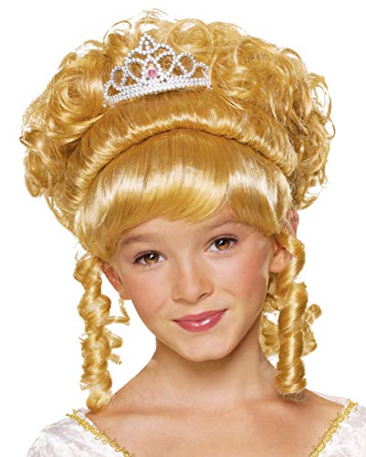 Princesse enfant perruque blonde