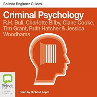 Criminal Psychology: Bolinda Beginner Guides audiobook cover art