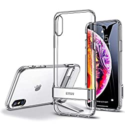 professional ESR metal case with stand for iPhone Xs Max, [Vertical and Horizontal Stand] [Reinforced Drop…