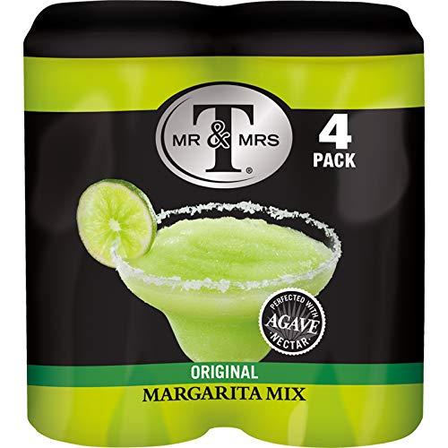 Mr & Mrs T Margarita Mix, 5.5 fl oz cans, 4 count