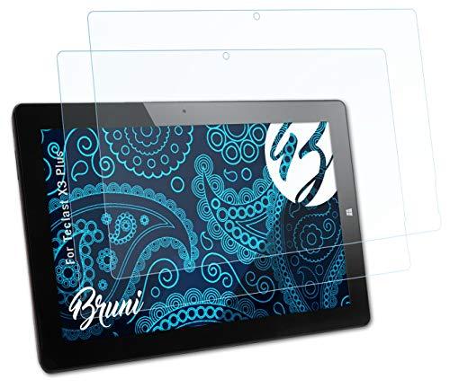 Bruni Schutzfolie kompatibel mit Teclast X3 Plus Folie, glasklare Bildschirmschutzfolie (2X)