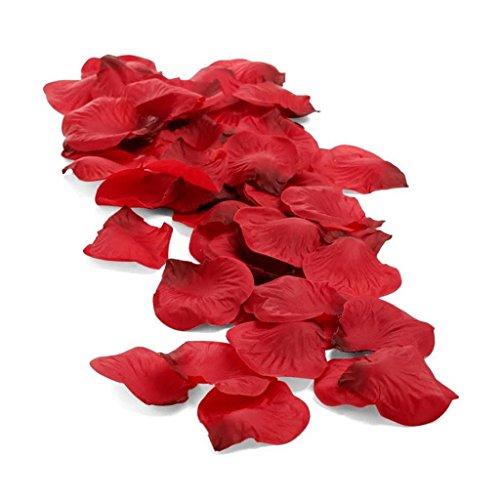Pétalos de Rosa Rojos artificiales y perfumables, ideales para crear un ambiente romántico y sensual de Platanomelón