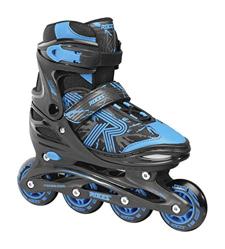 Roces Jungen Jokey 3.0 Boy Inline-Skates, Black-Astro Blue, 34/37