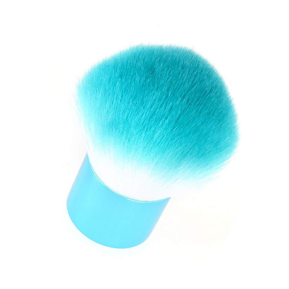 2 Raleigh Mall Pcs sale Loose Powder Brush Durable Professional Mushro Blush