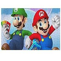 マリオ/Marioジグソーパズル 300ピース500ピース1000ピース 木製パズル 学生 子供 大人減圧のパズル 耐久性 キャラクター パズル おもちゃ 無毒無害 最高のギフトの選択 楽しい誕生日プレゼント ジグソーパズル 壁飾り