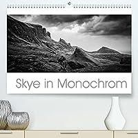 Skye in Monochrom (Premium, hochwertiger DIN A2 Wandkalender 2022, Kunstdruck in Hochglanz): Die Isle of Skye in 12 Schwarz-Weiss-Fotografien (Monatskalender, 14 Seiten )