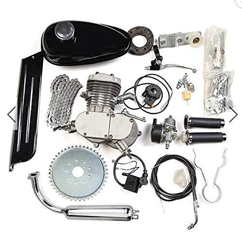 HWENK Kit de Motor de Bicicleta, 80Cc Motor de Motor de 2 Tiempos Juego de actualización...