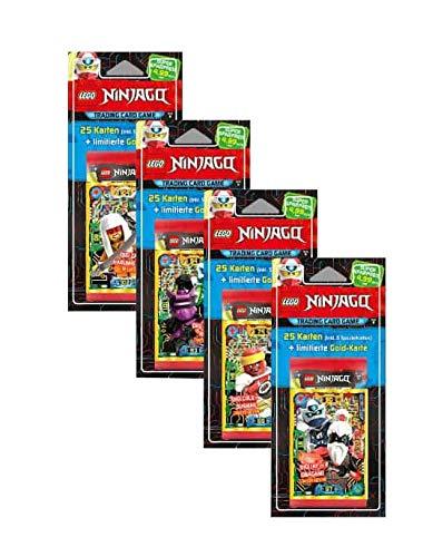 Lego Ninjago - Serie 5 Trading Cards alle 4 Verschiedene Blister