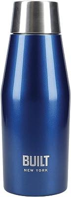 BUILT 水筒 パーフェクトシールド ステンレスボトル 330ml 魔法瓶 真空 密閉 保冷 保温 すてんれす 直飲み 洗いやすい ダブルウォール ニューヨーク ネイビー