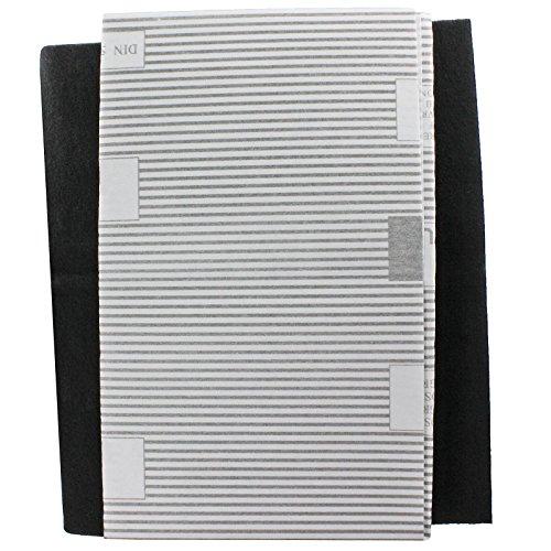 SPARES2GO grote afzuigkap vetfilters voor Zoppas Vent Extractor ventilatoren (2 x filter, op maat gesneden - 100 cm x 47 cm)